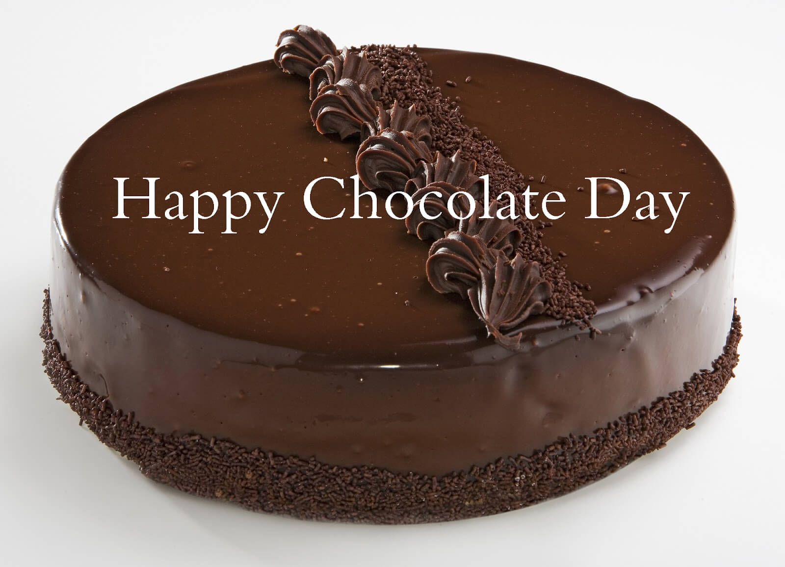 happy chocolate day cake for valentine love graphic image facebook whatsapp hd wallpaper