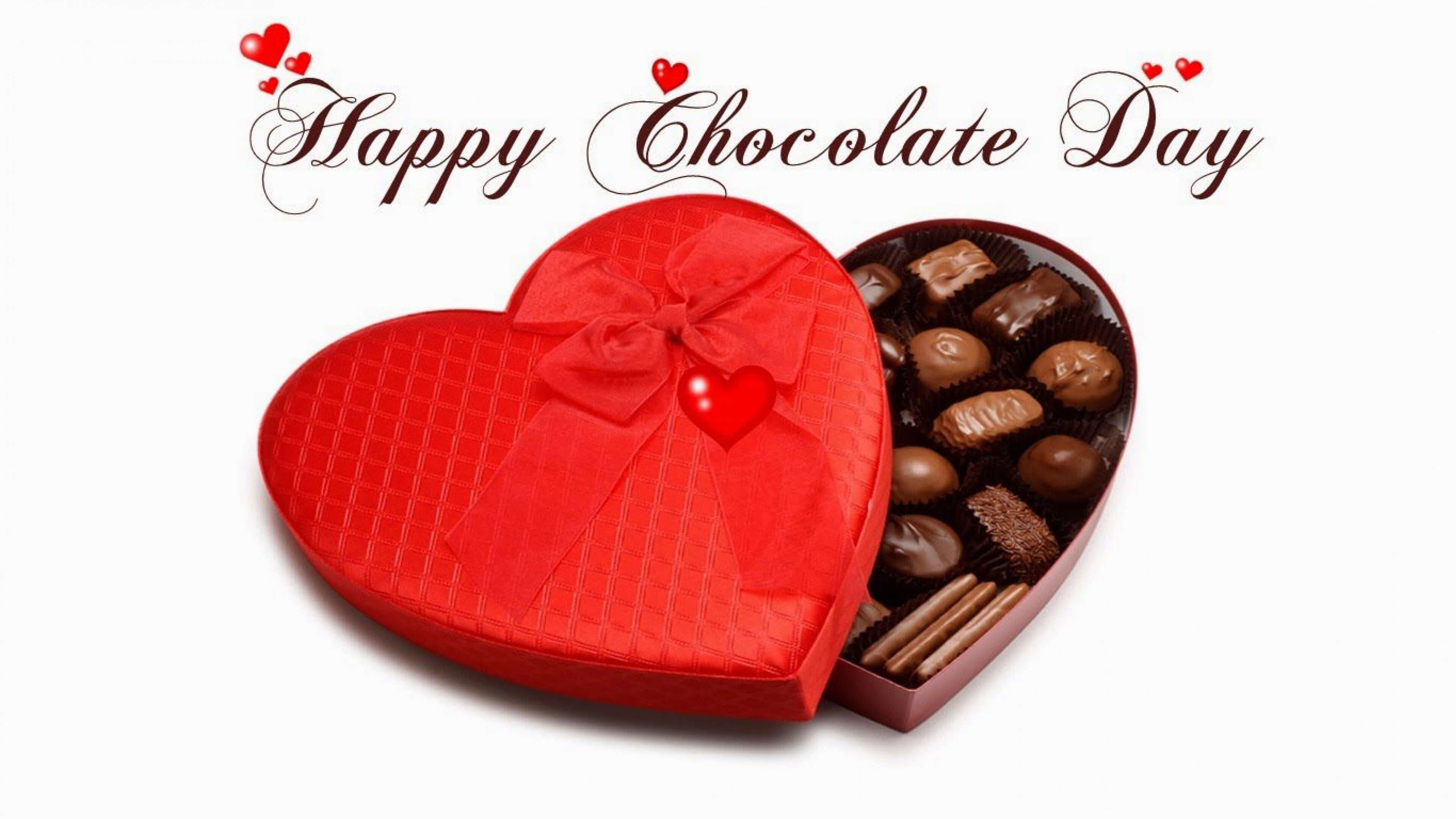 happy chocolate day for you valentine girl friend lover wide hd wallpaper