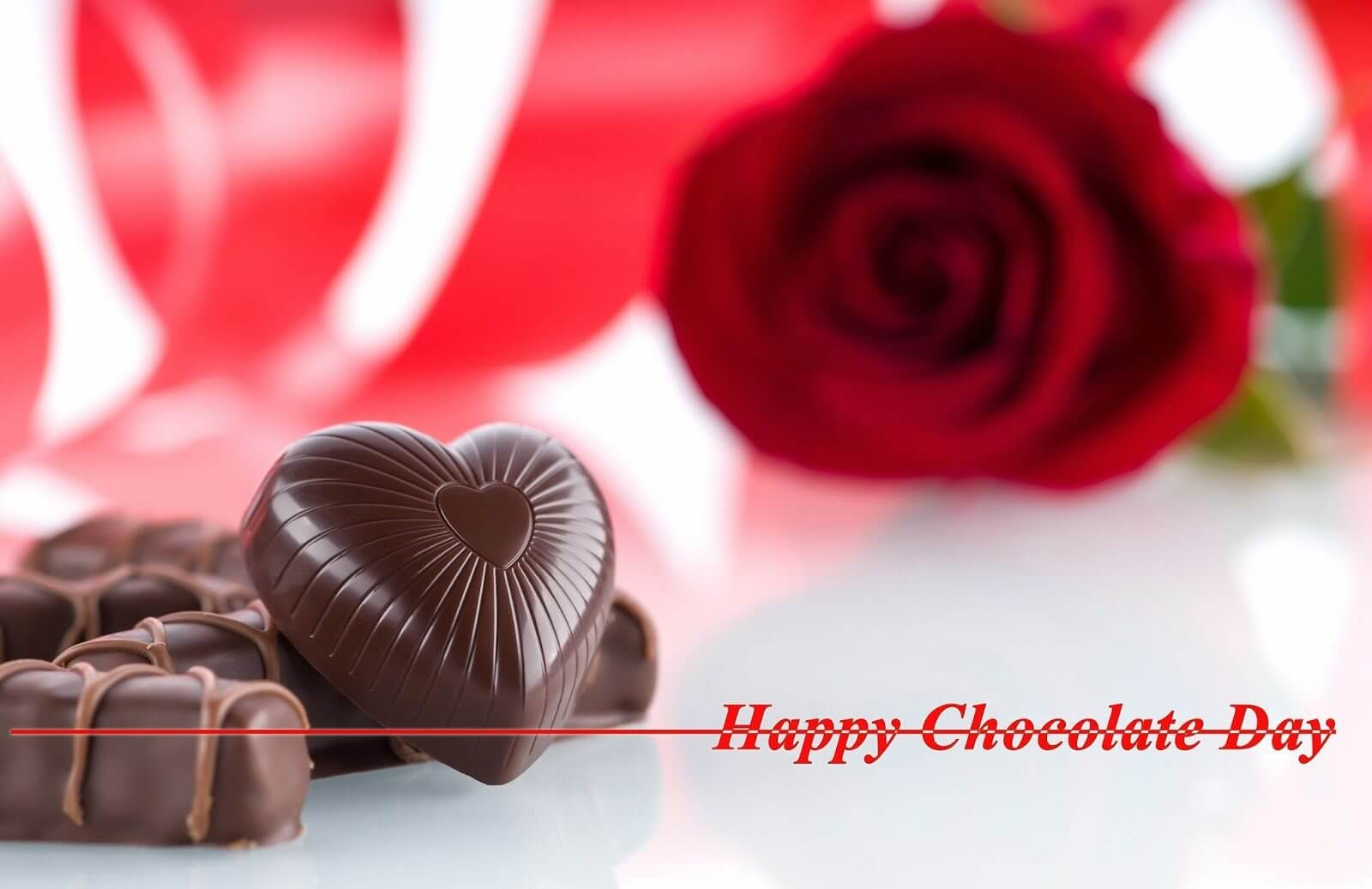 Happy Chocolate Day Girl Friend Heart Love Feb 9th Whats App Facebook Hd Wallpaper