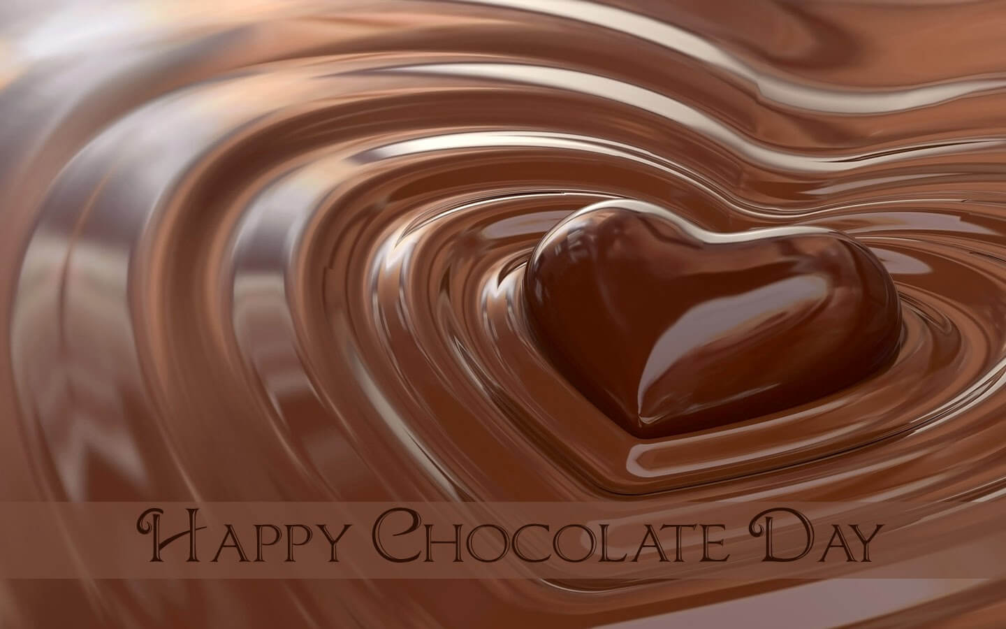 happy chocolate day heart graphic image love facebook whatsapp hd wallpaper