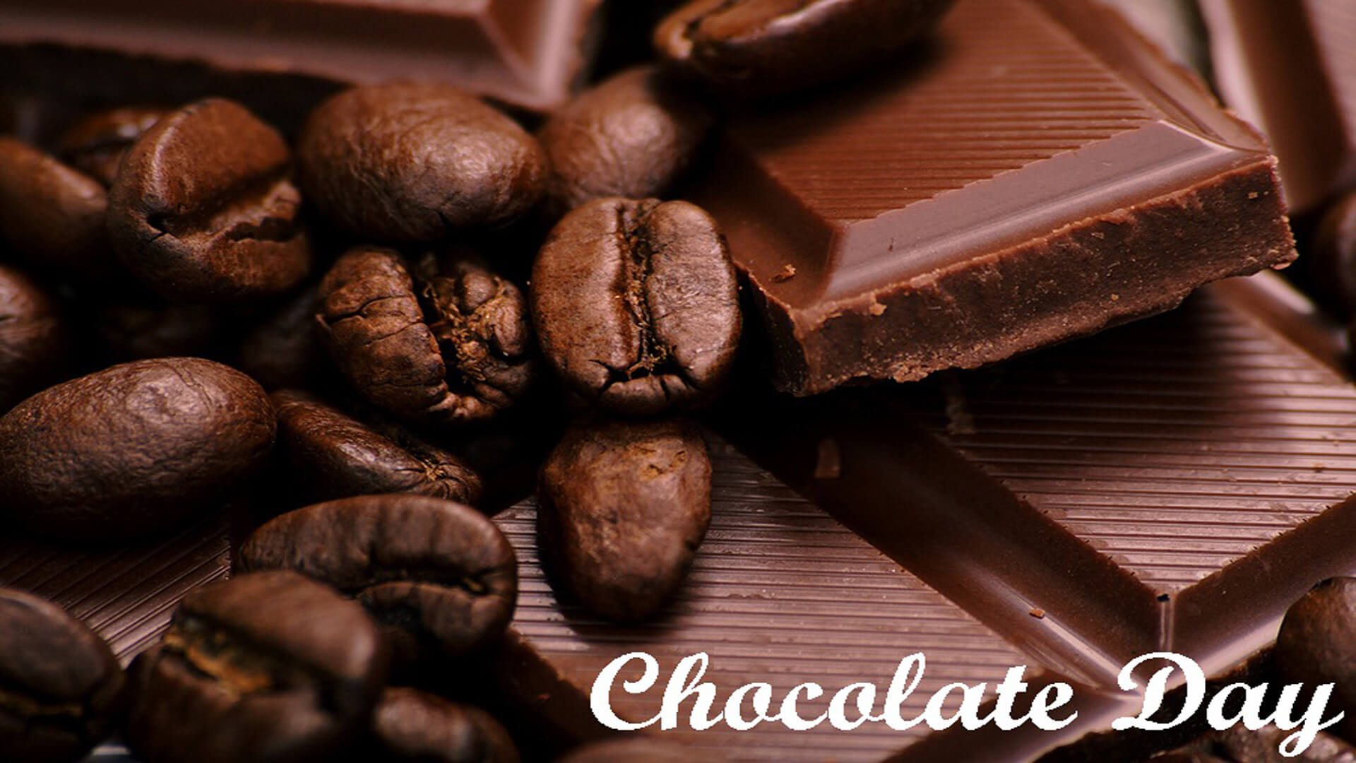 happy chocolate day nuts graphic image love facebook whatsapp hd wallpaper