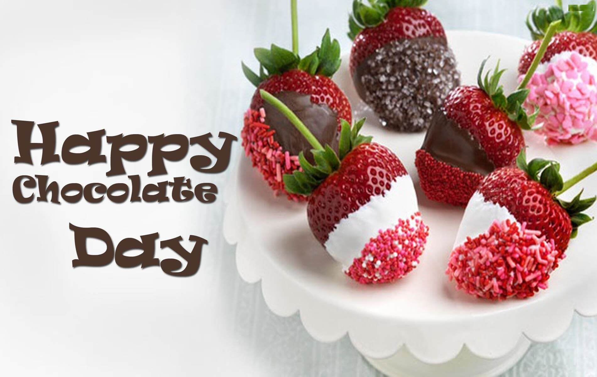 happy chocolate day strawberry image picture love facebook desktop hd wallpaper