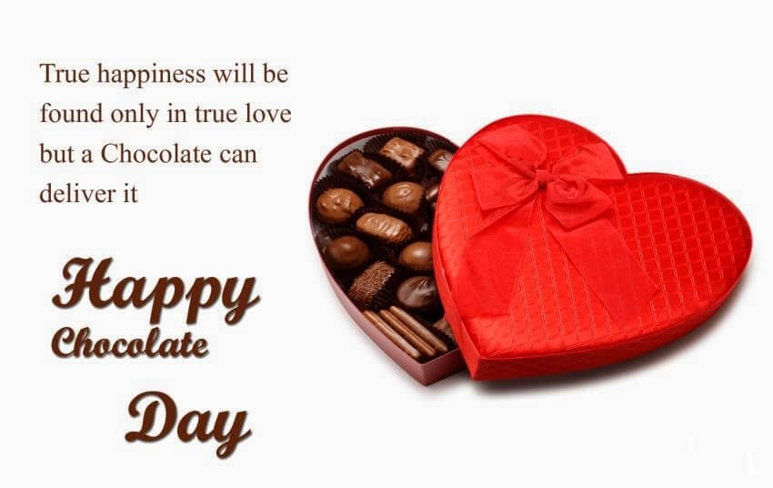 happy chocolate day true happiness love girl friend quotes hd wallpaper