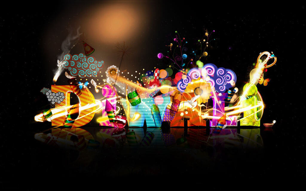 happy diwali awesome latest modern hd wallpaper