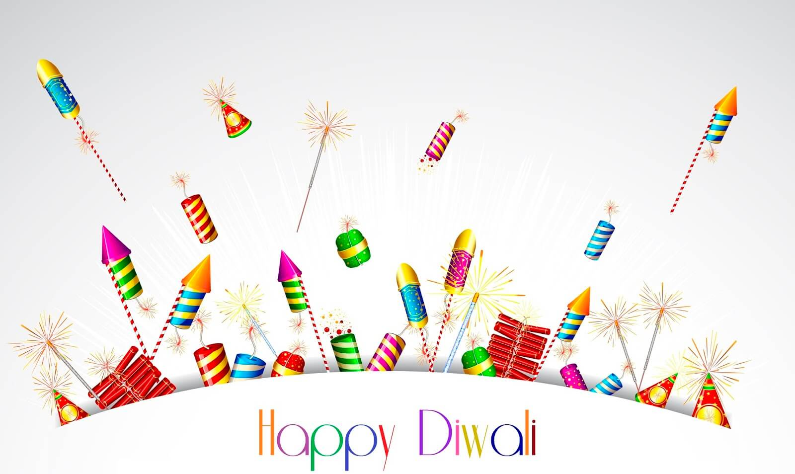 happy diwali crackers hd wallpaper background