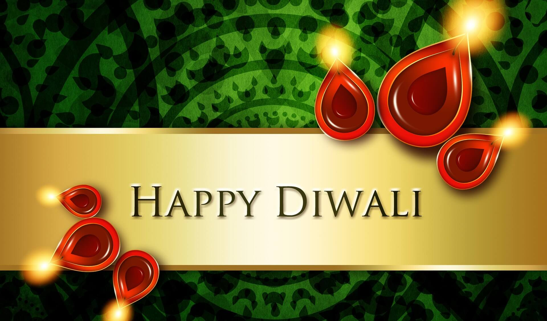 happy diwali deepavali indian festival 4k pc background hd wallpaper