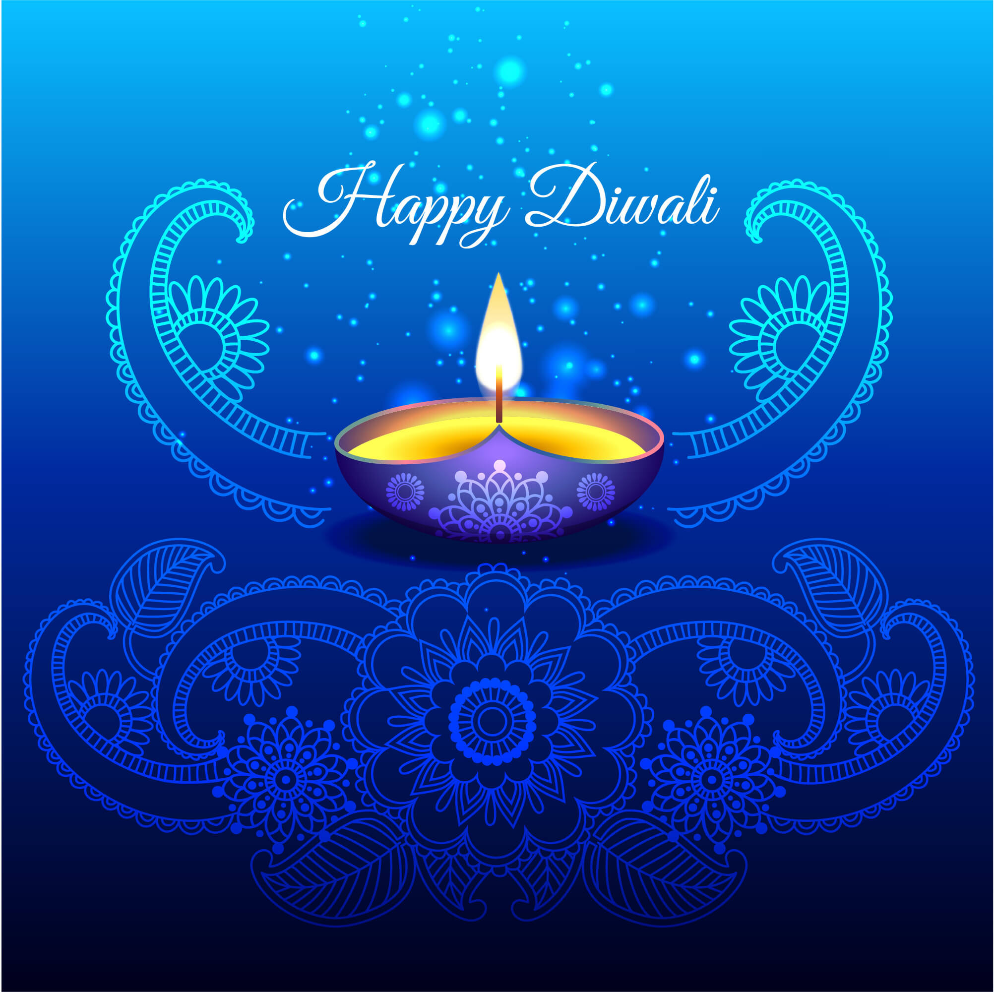 happy diwali deepavali latest cute hd pc wallpaper