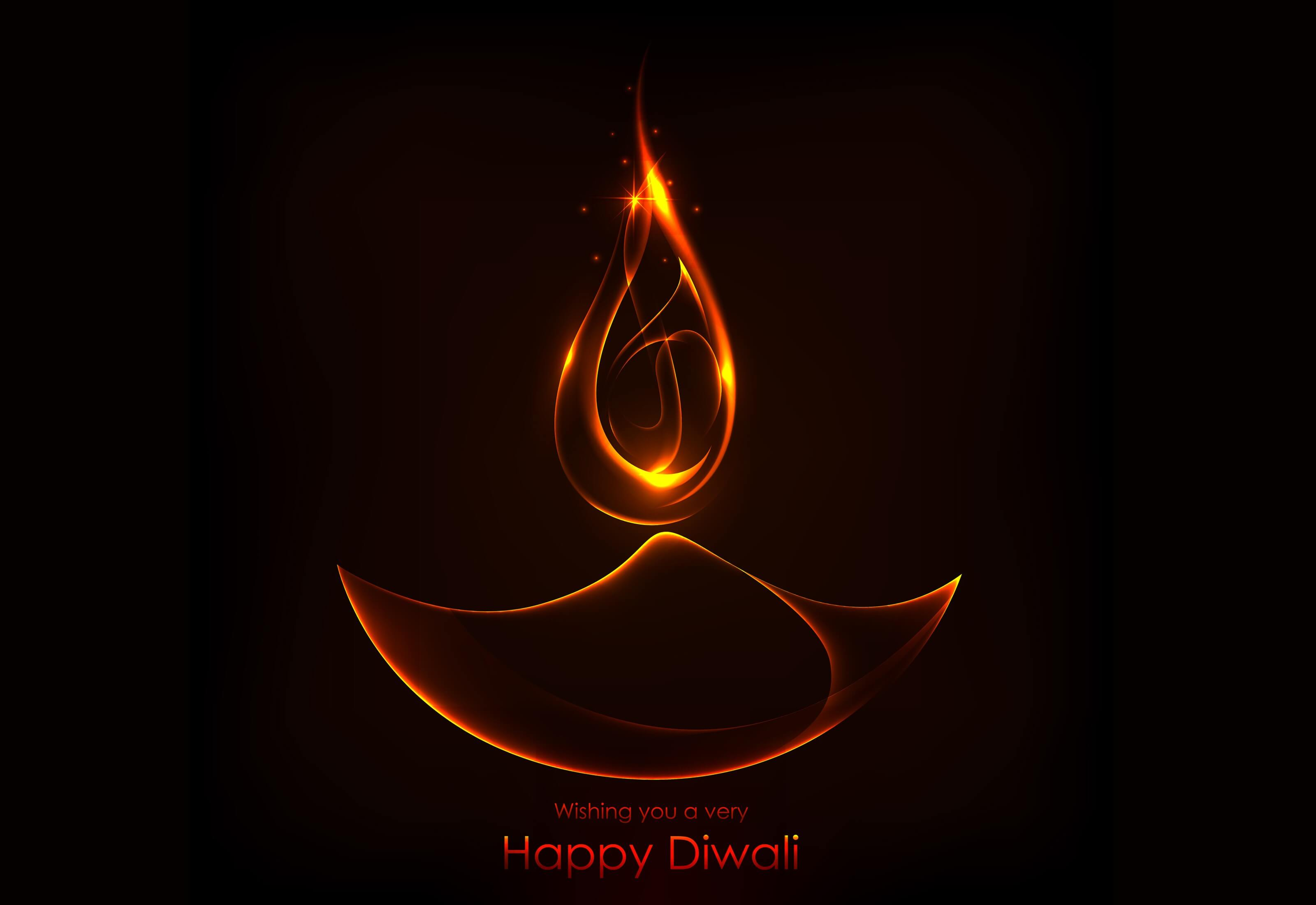 happy diwali deepavali wishes latest cute hd wallpaper
