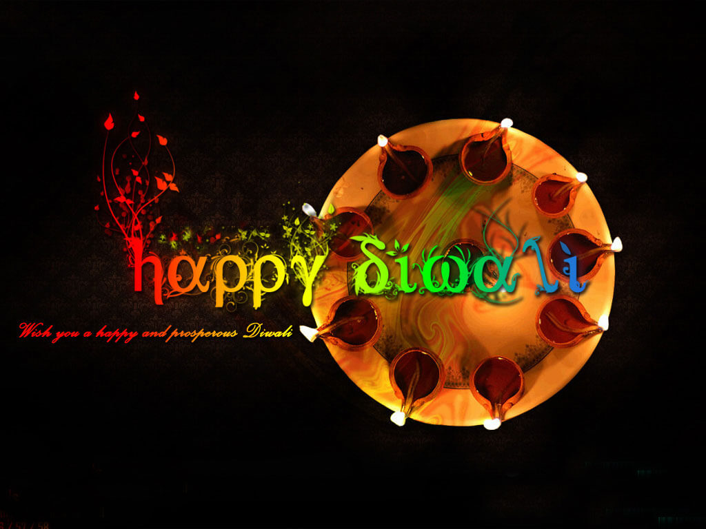 Happy Diwali Deepavali Wishes Modern Latest Hd Wallpaper