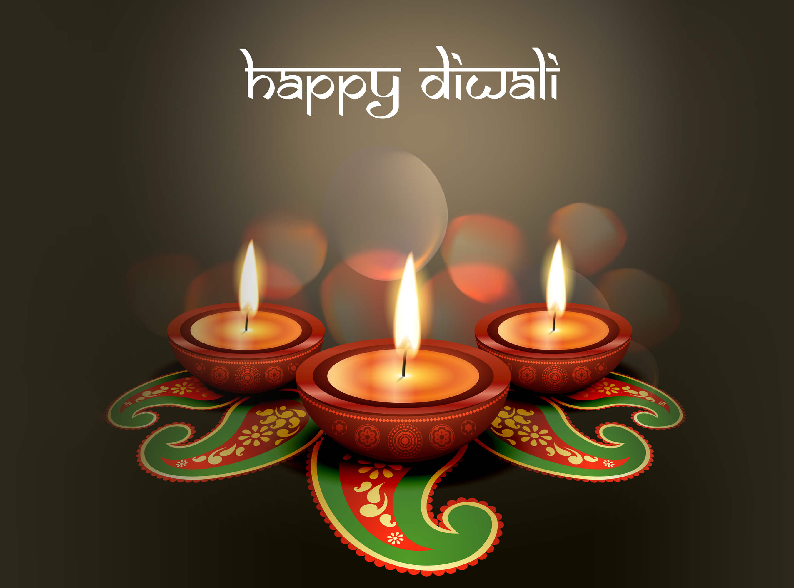 happy diwali greetings wishes lamp hd desktop wallpaper