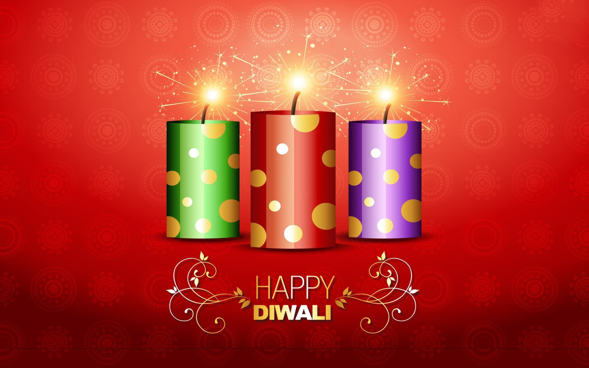 happy diwali wishes crackers free hd wallpaper
