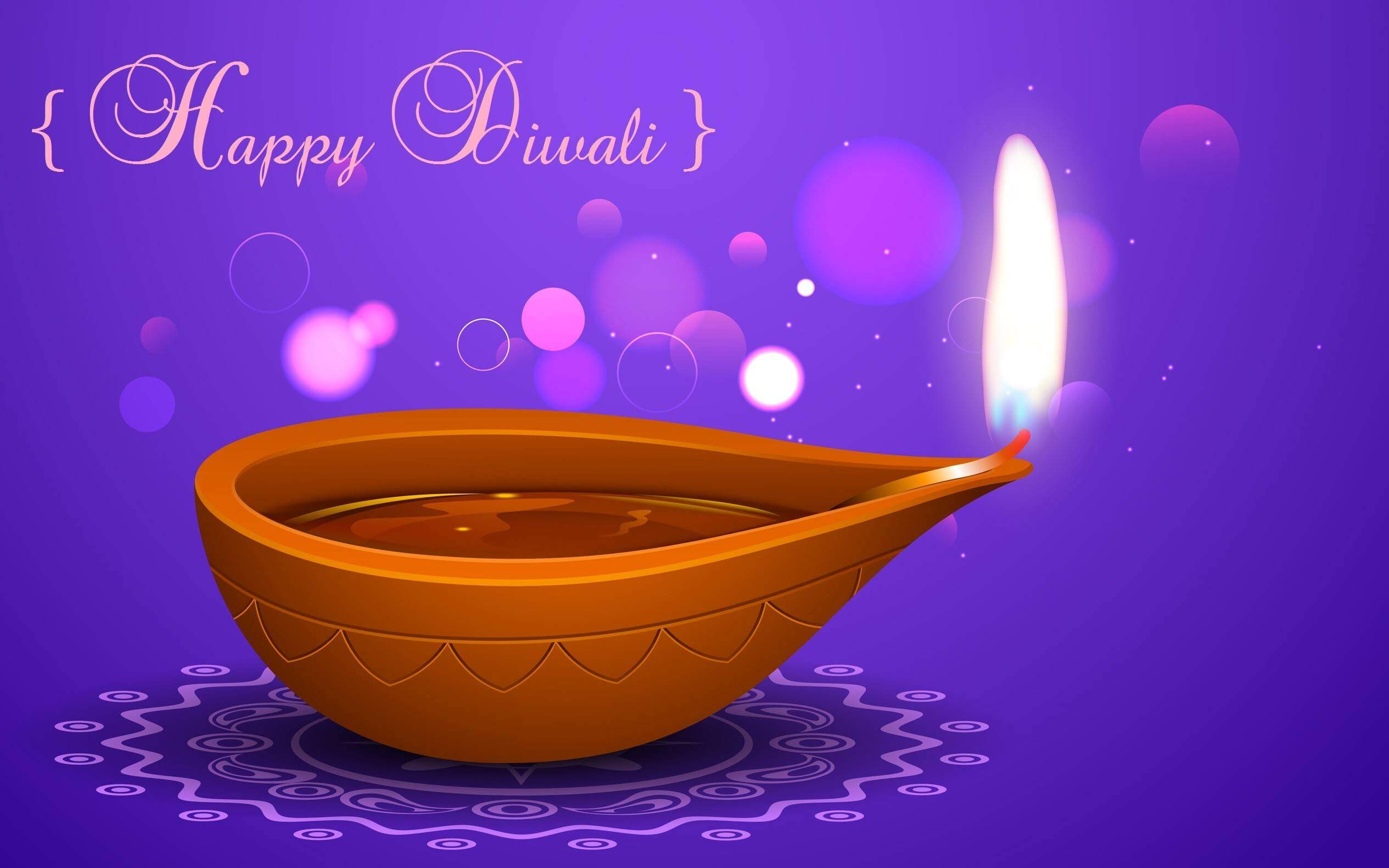 happy diwali wishes lamp graphic hd wallpaper