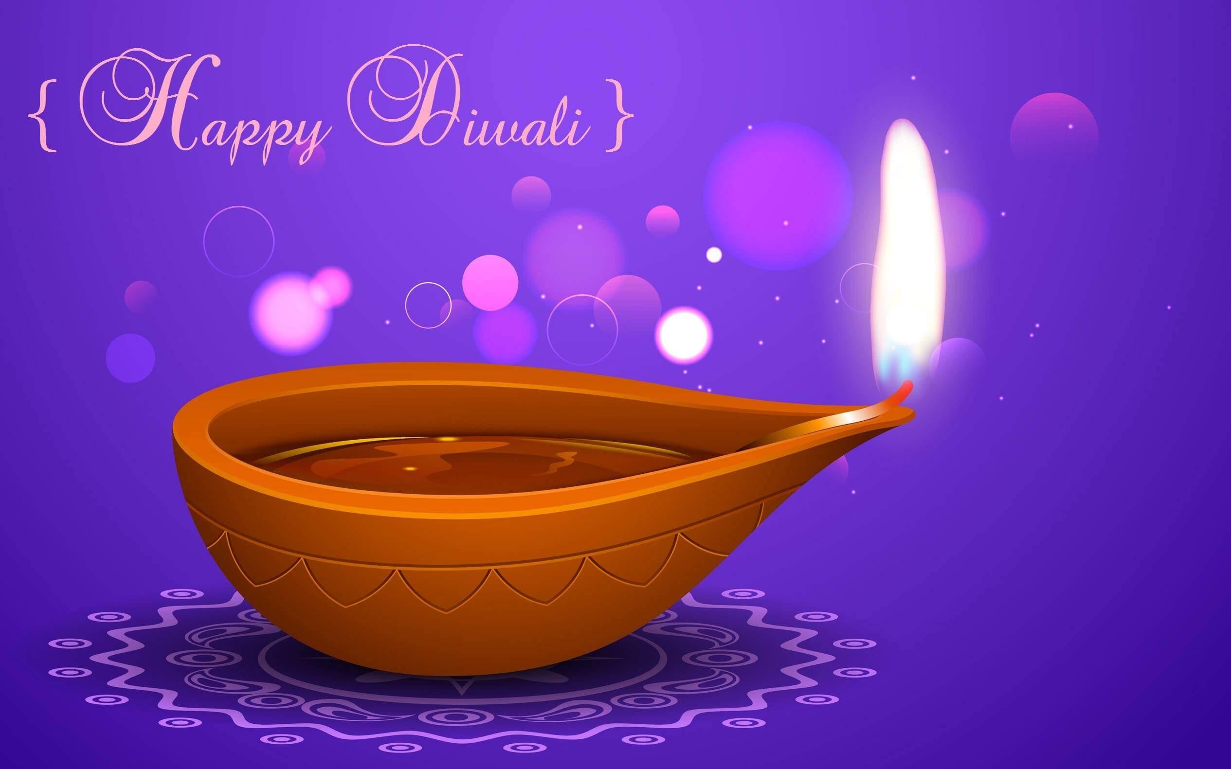 happy diwali wishes lamp graphic hd wallpaper