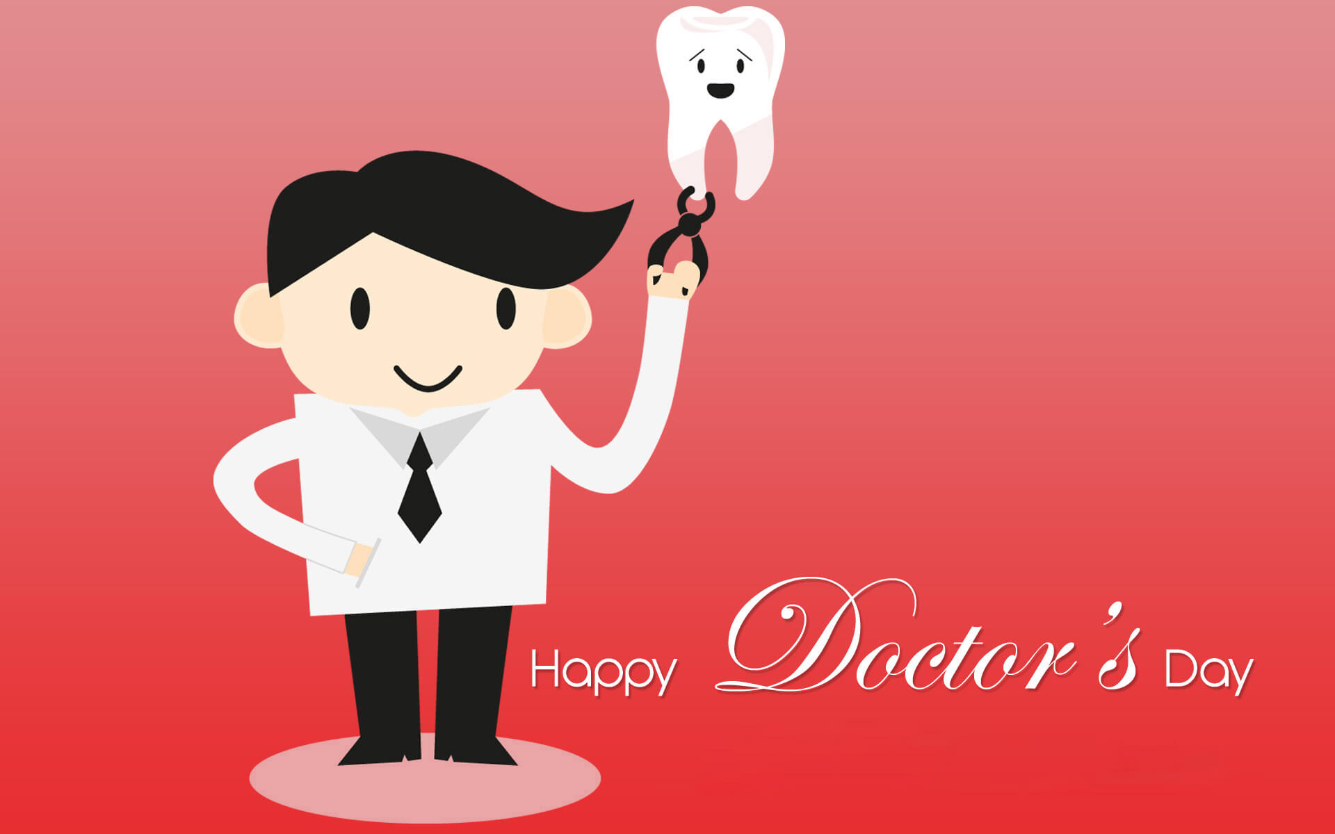 happy doctors day wishes greetings dentist hd wallpaper