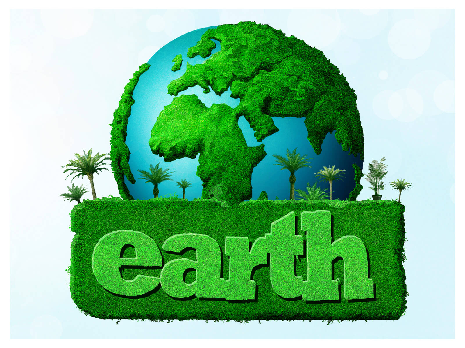 happy earth day 3d hd new wallpaper