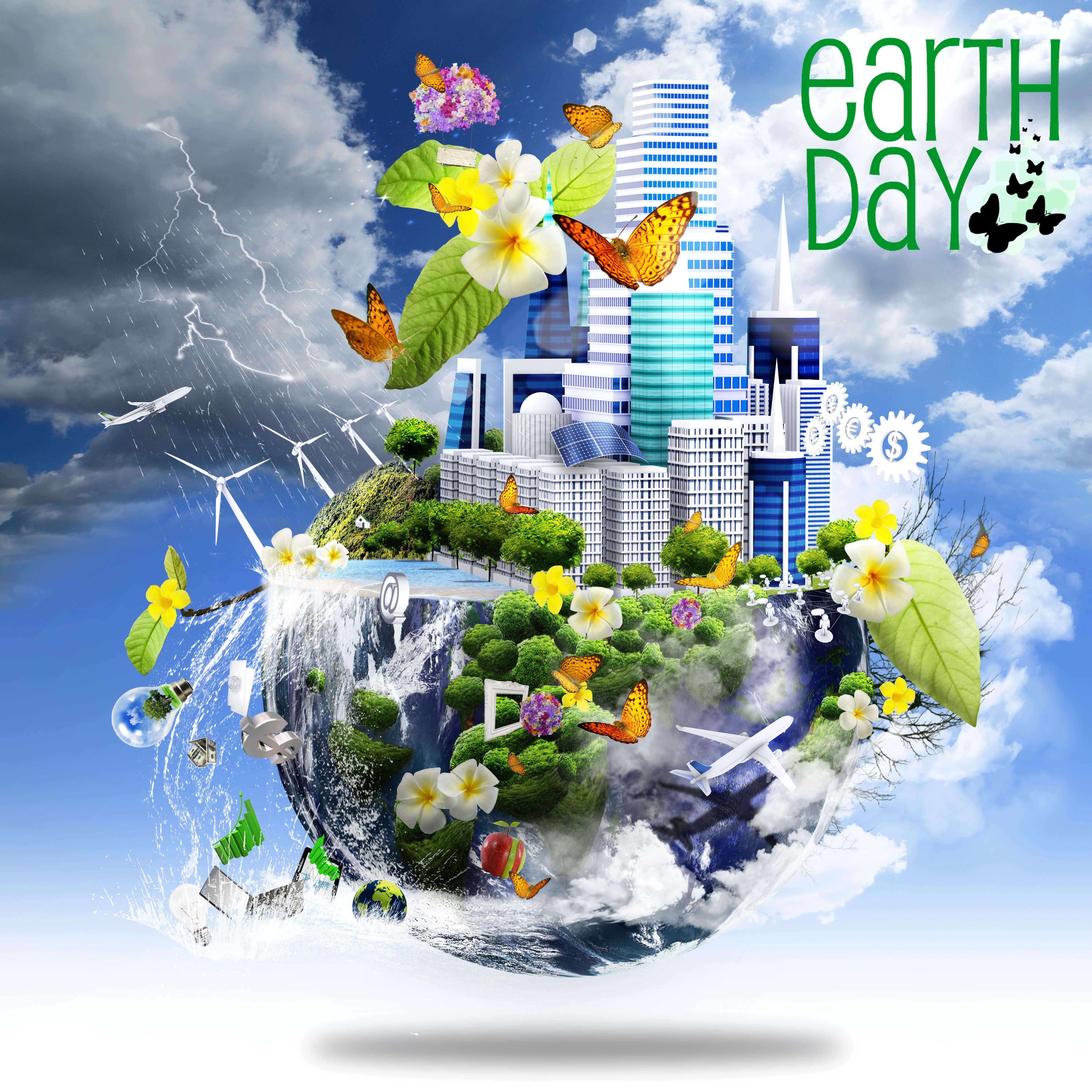 happy earth day go green nature latest hd wallpaper