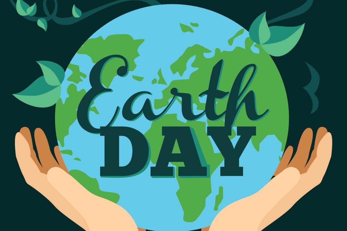 happy earth day go green wallpaper
