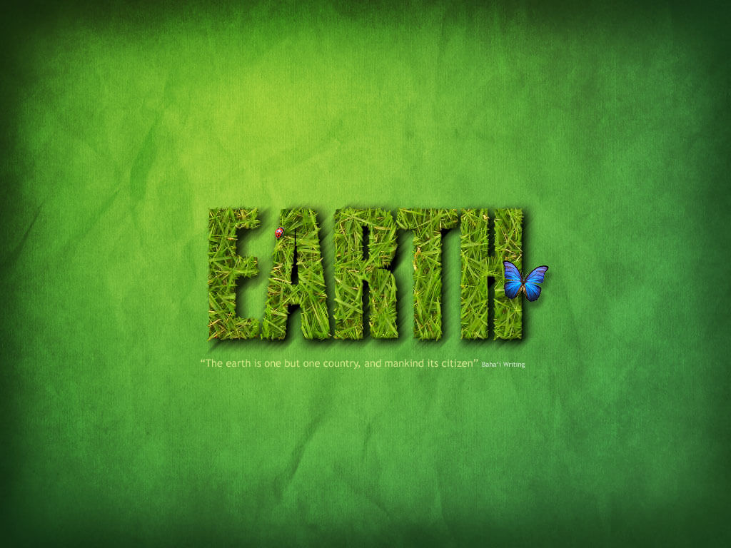 happy earth day green pc hd image wallpaper