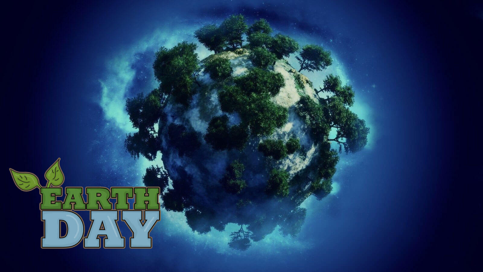 happy earth day grow more trees planet wallpaper