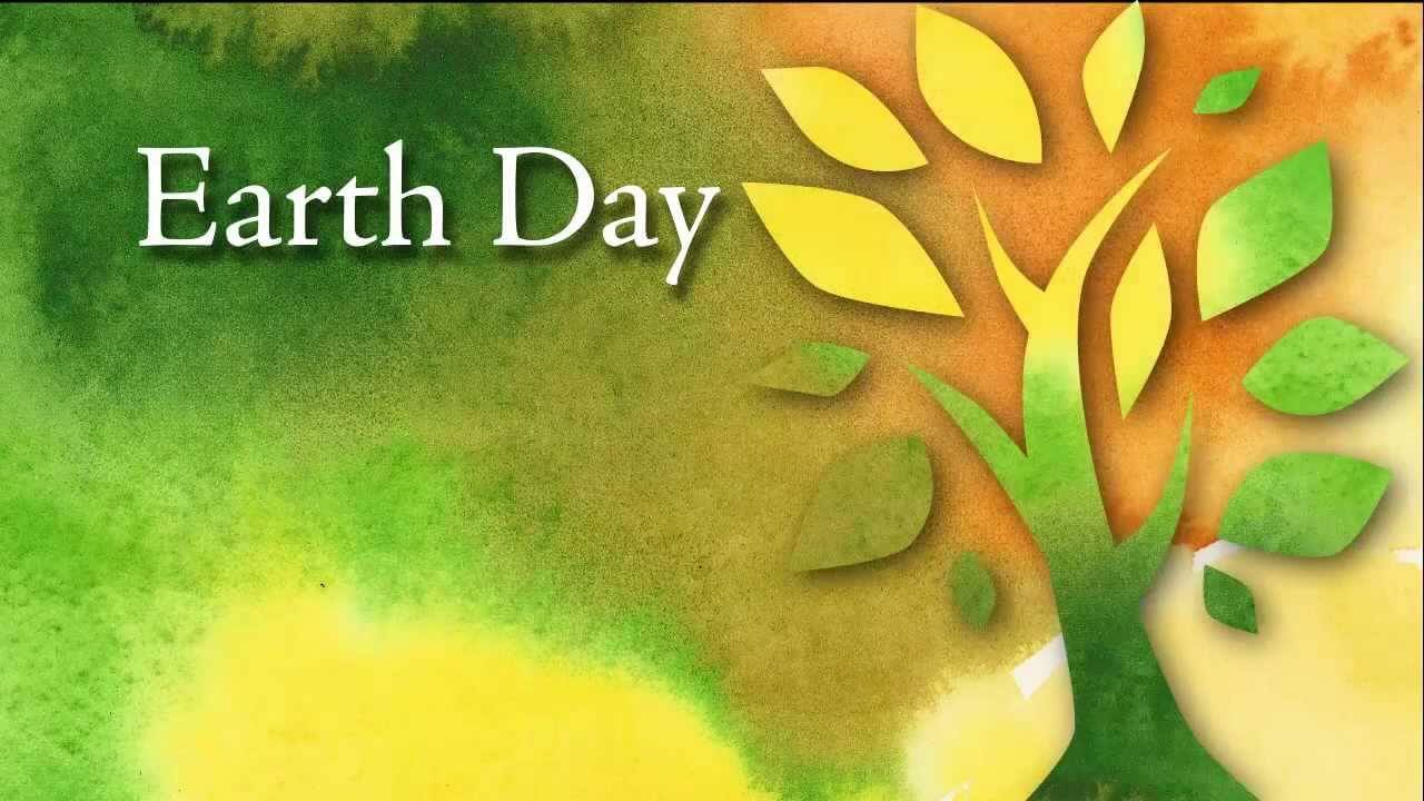 happy earth day image modern art wallpaper