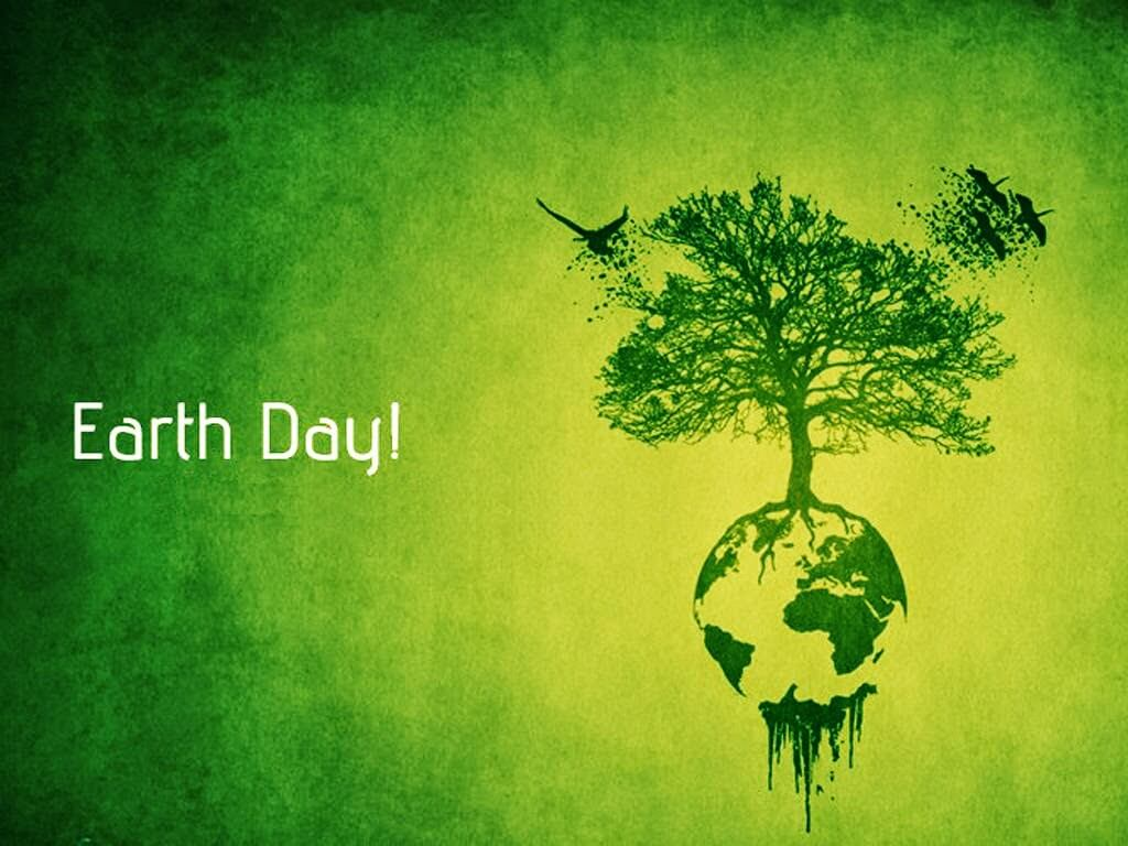 happy earth day modern hd background wallpaper