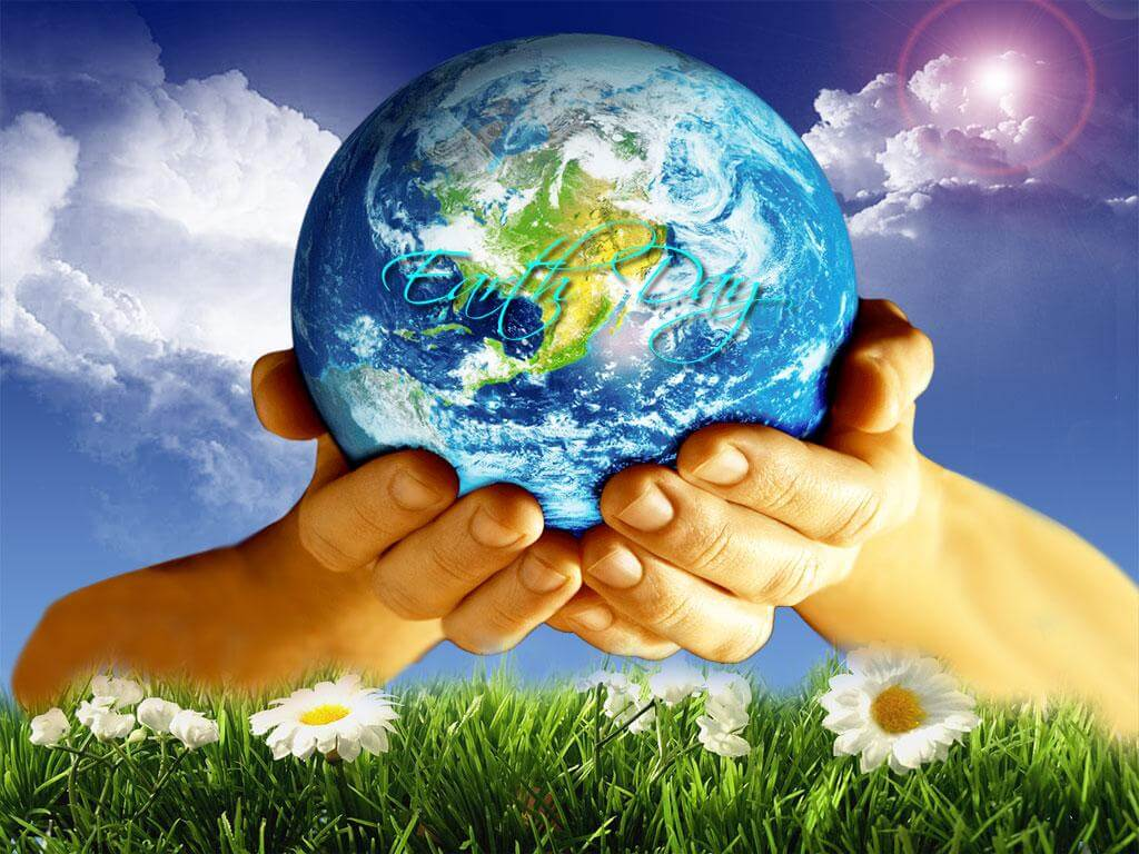 happy earth day pc desktop wallpaper