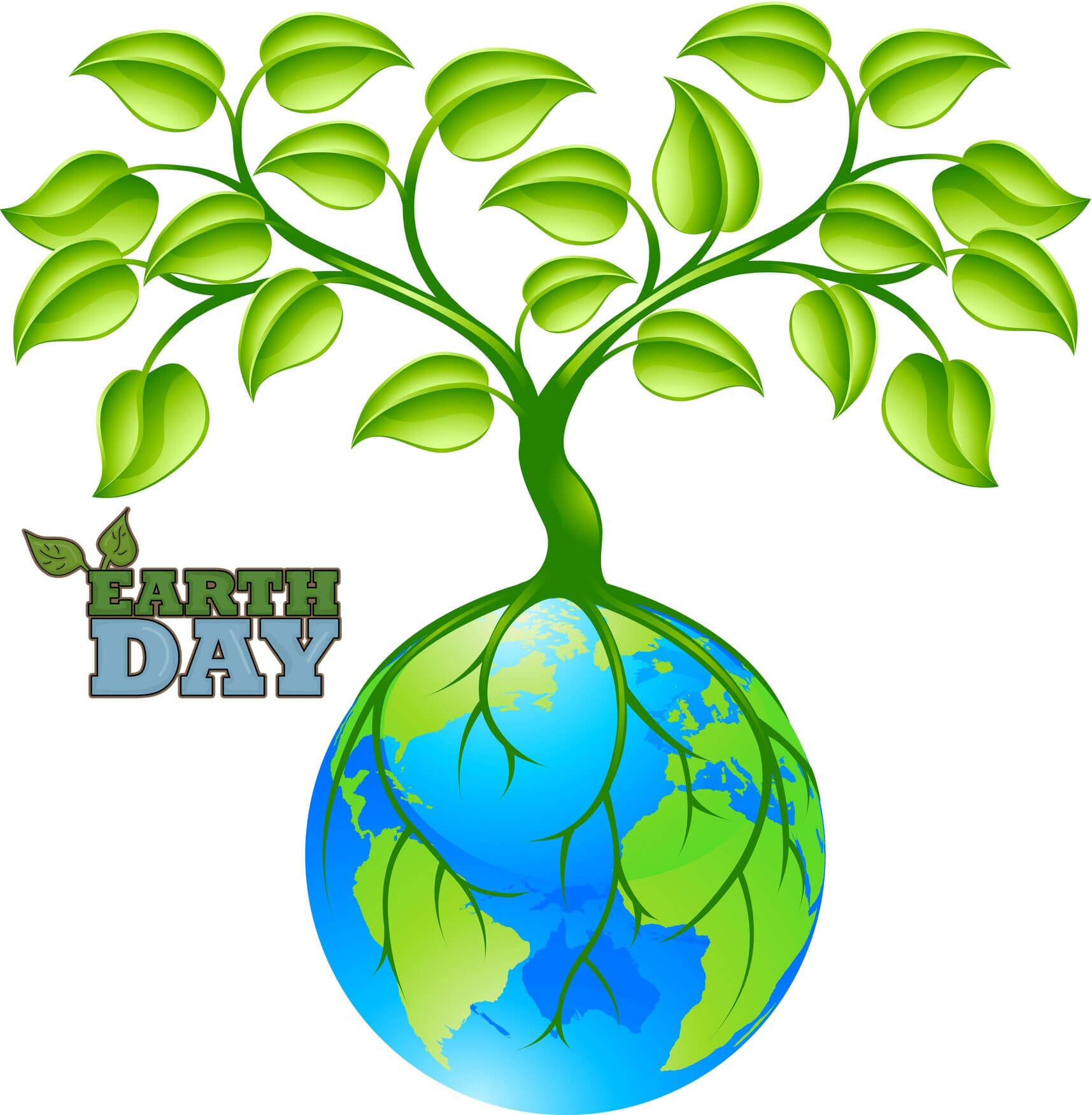 happy earth day plant tree world wallpaper