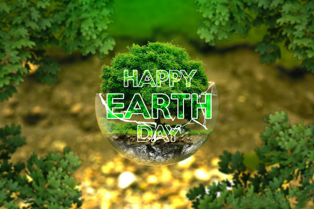 happy earth day save nature green hd wallpaper