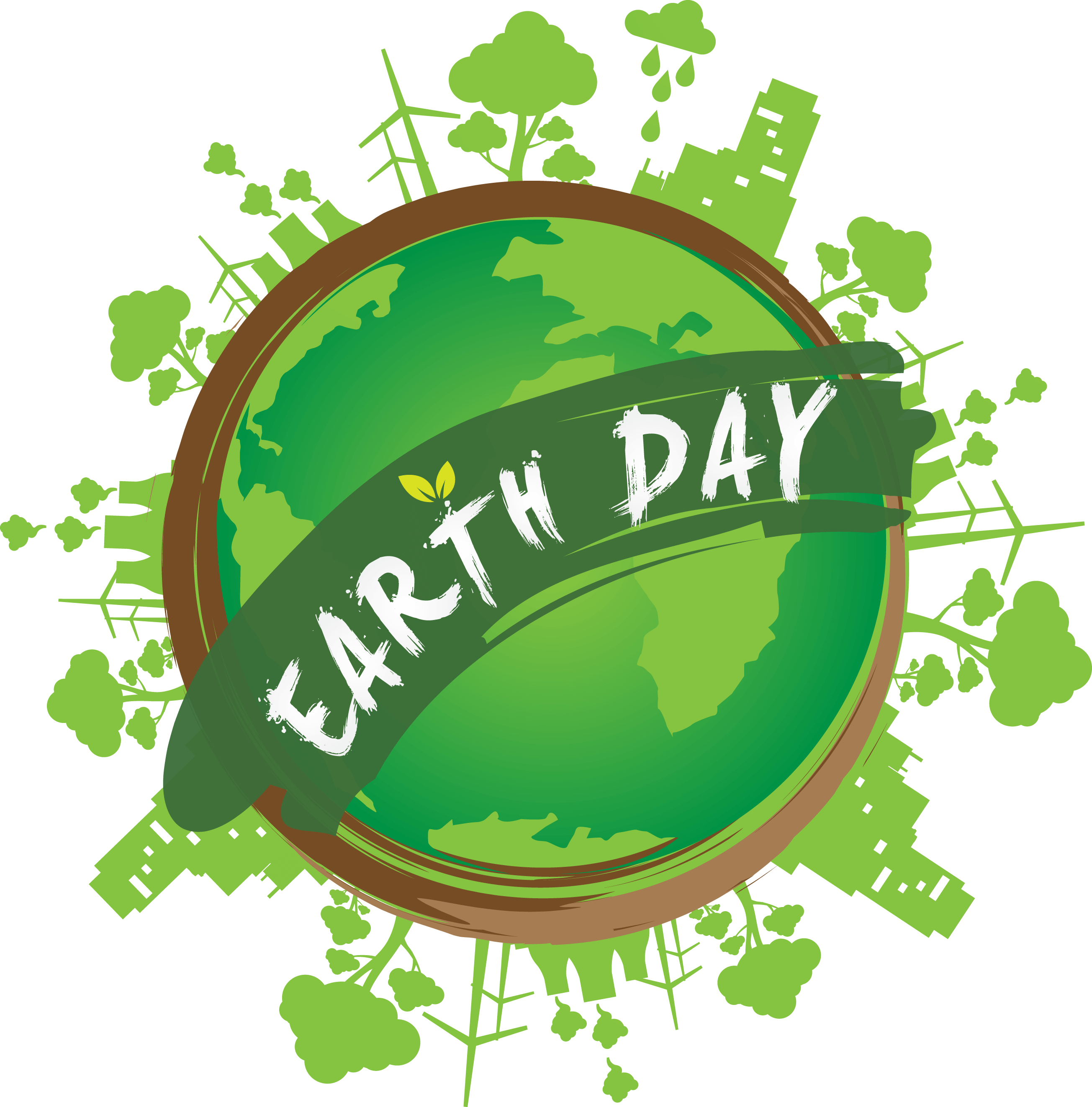 happy earth day vector image wallpaper
