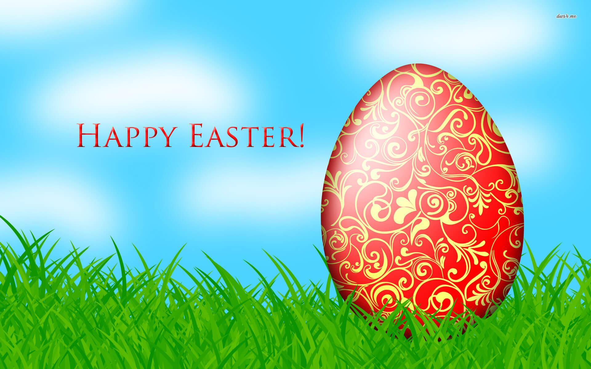 happy easter egg art wallpaper hd background