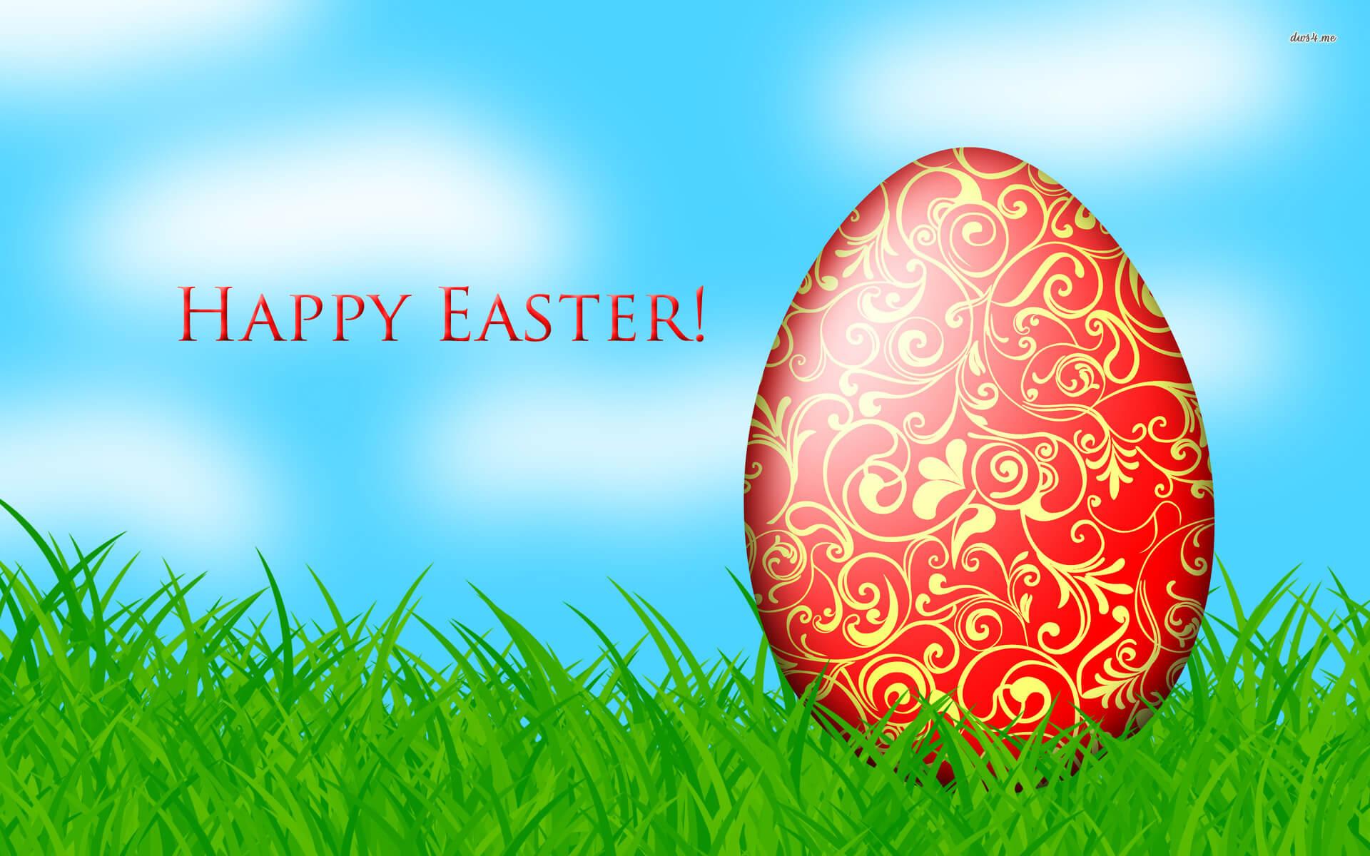 happy easter egg art wallpaper hd background