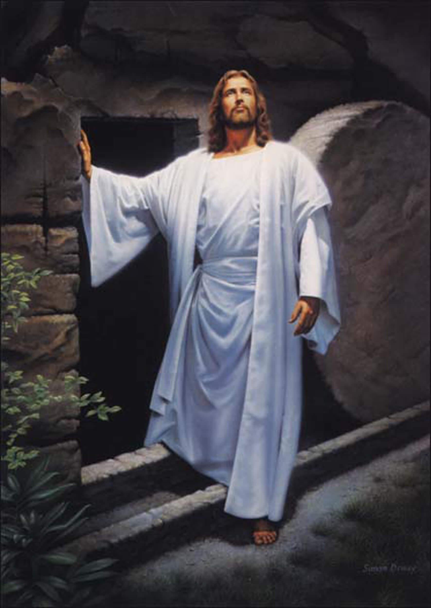 happy easter jesus resurrection risen hd wallpaper