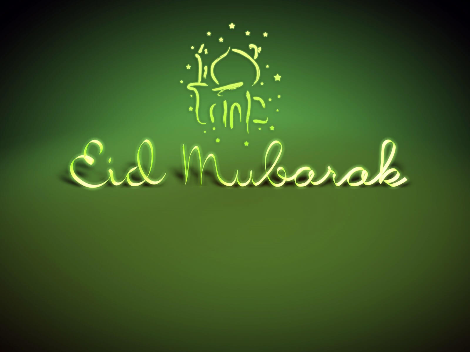 happy eid mubarak ramzan wishes wallpaper