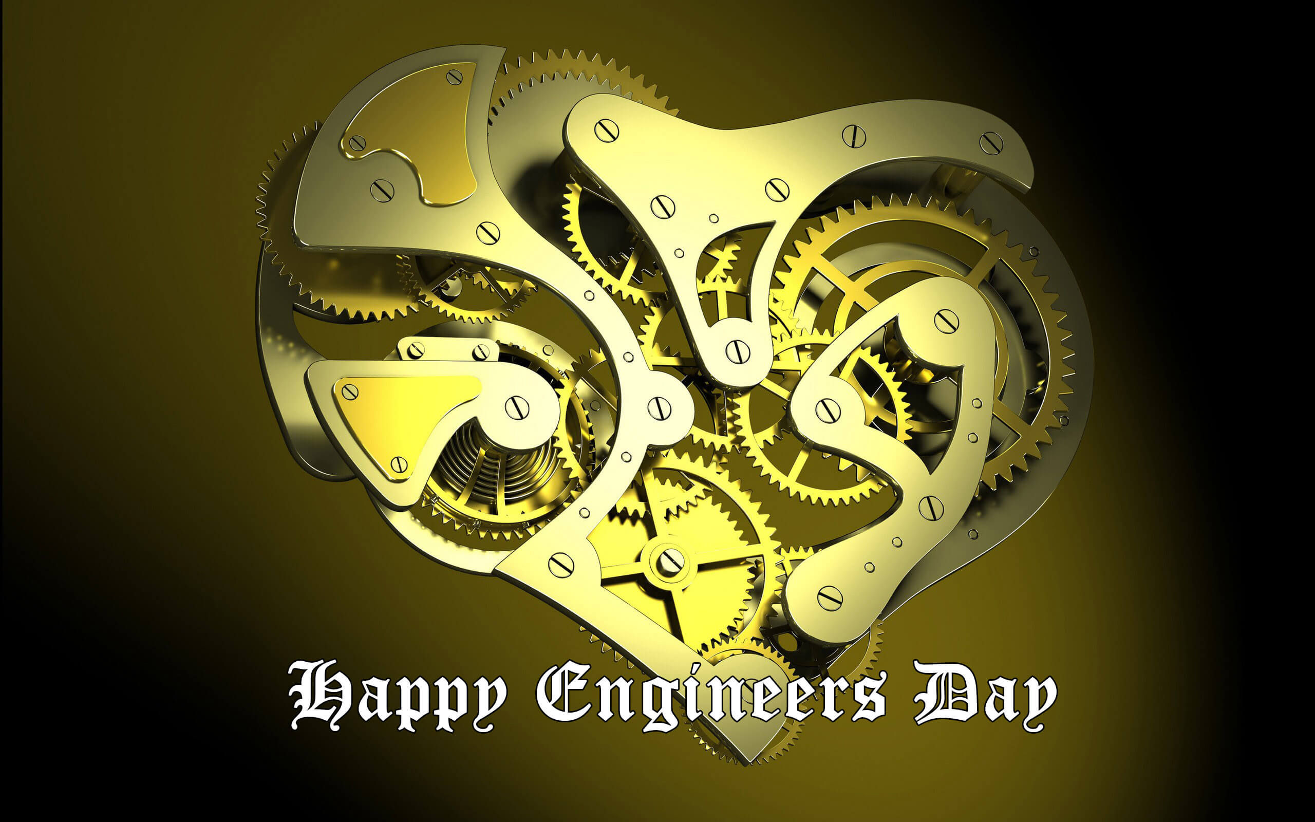 happy engineers day greetings mechanical engineering lever wheel hd wallpaper