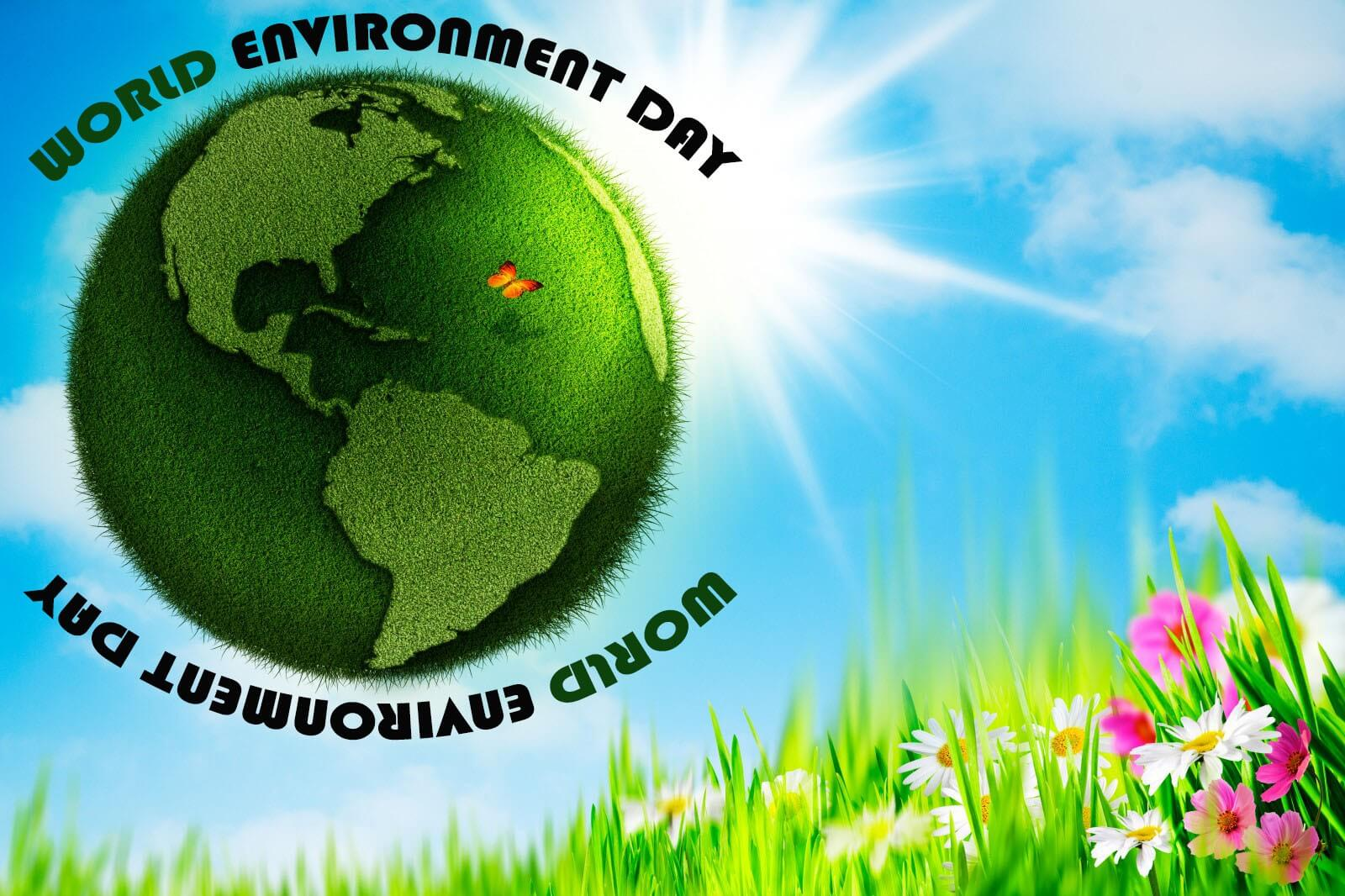 happy environment earth day 3dimage