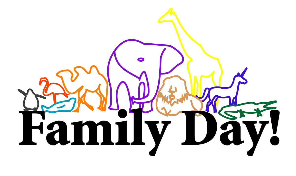 happy family day art image
