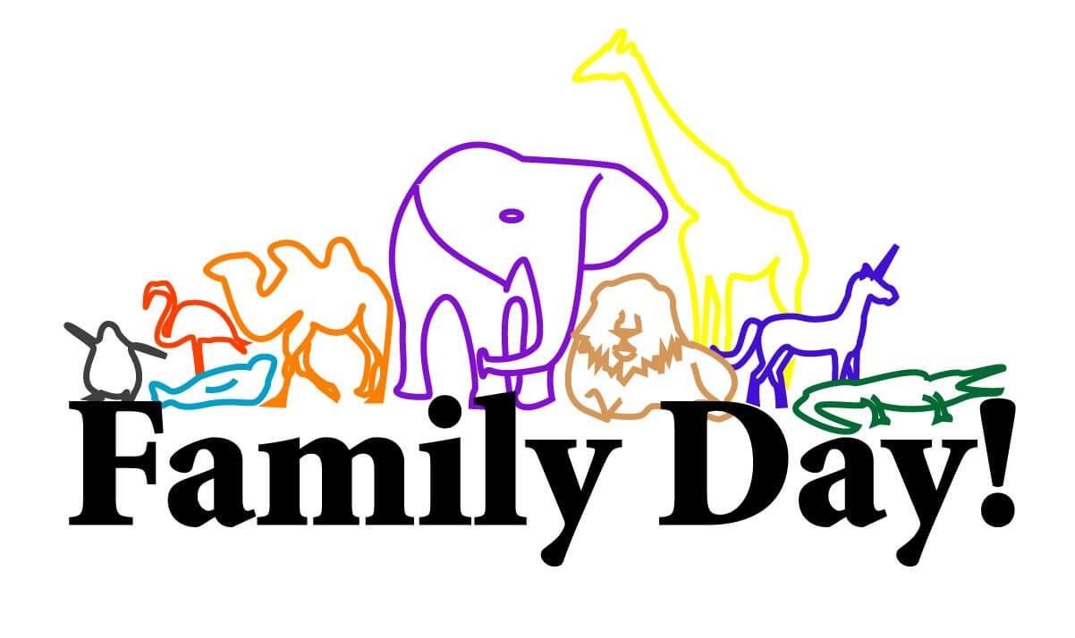 happy family day art image
