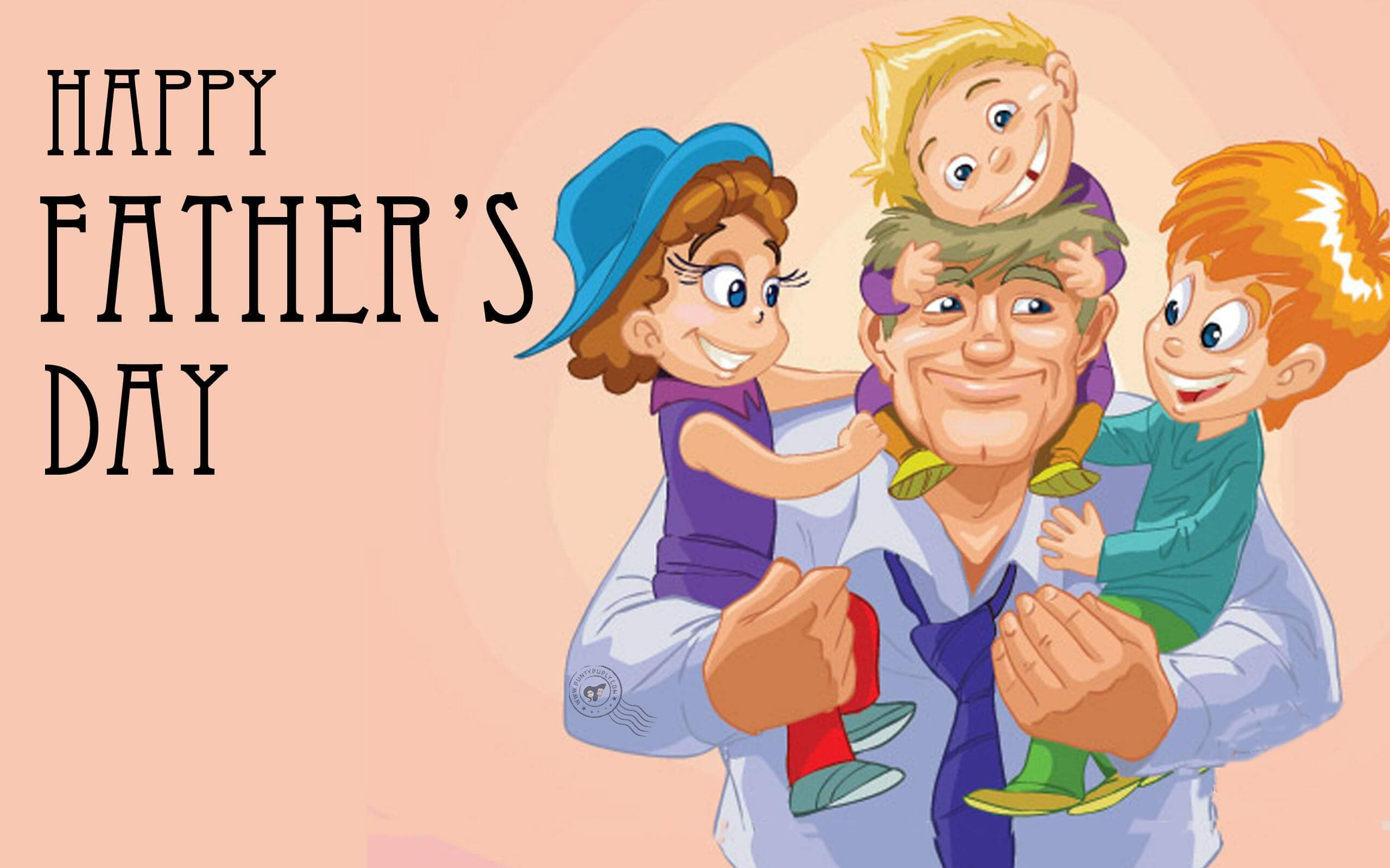 happy fathers day animated graphic wallpaper hd