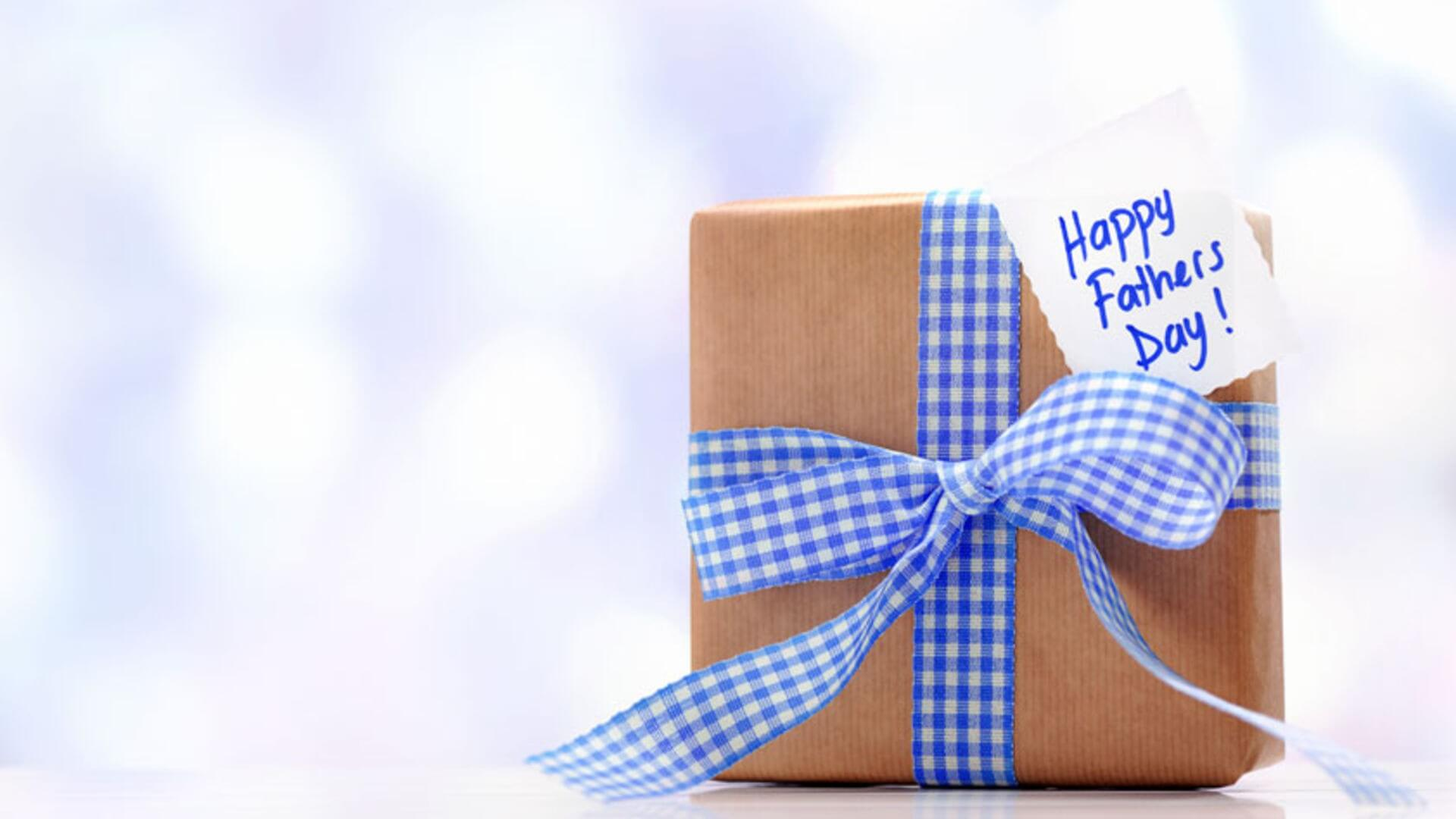 happy fathers day gift desktop background hd