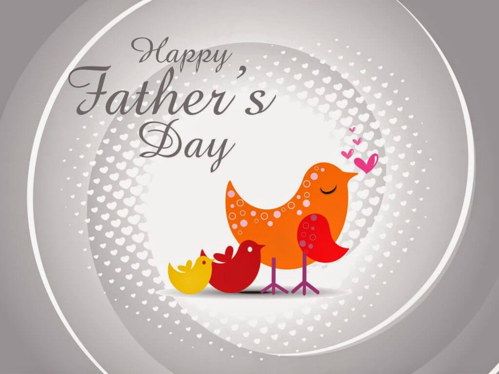 happy fathers day hen chicks love hd wallpaper