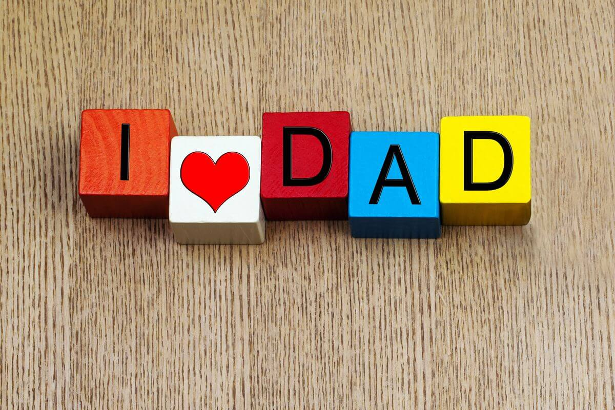 happy fathers day i love dad hd wallpaper