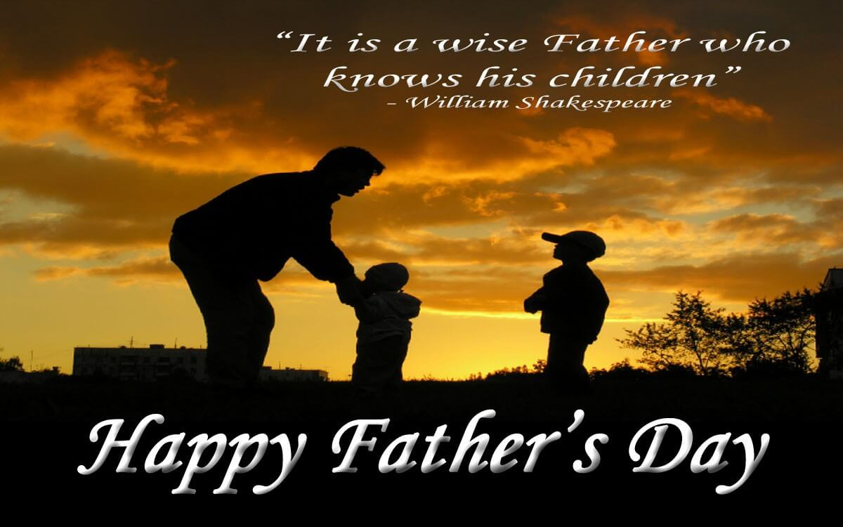 happy fathers day quotes hd shakespeare