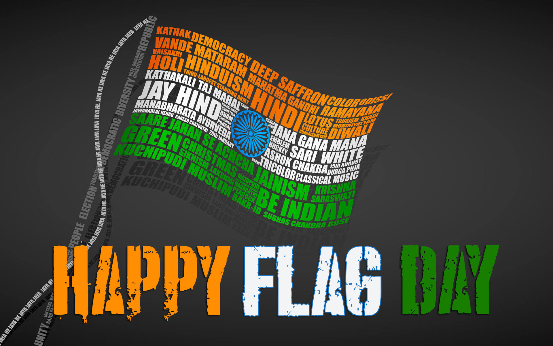 happy flag day india hd desktop wallpaper
