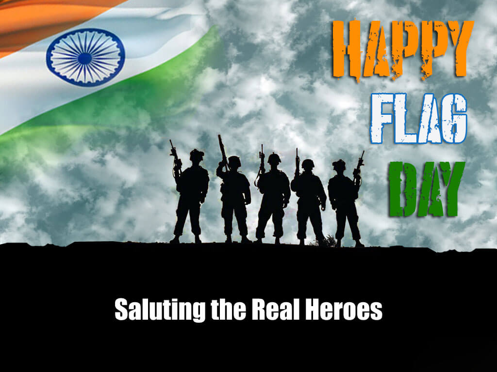 happy flag day india saluting real heroes hd wallpaper