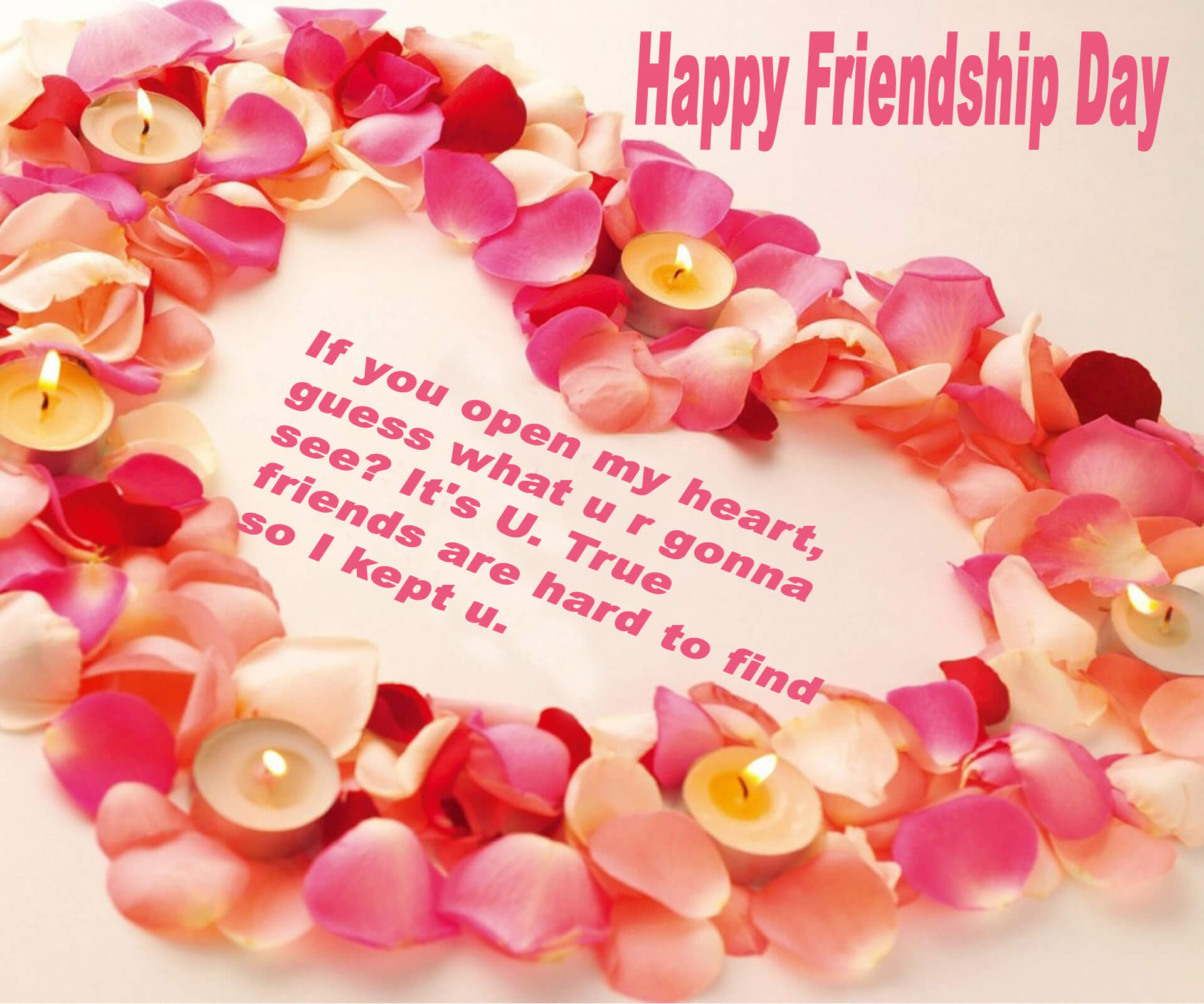 Happy Friendship Day Best Friend Quotes Hd Wallpaper