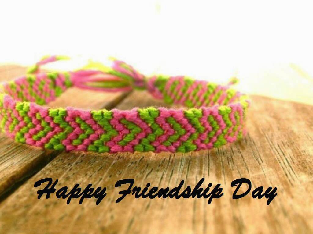 Happy Friendship Day Color Band Hd Wallpaper