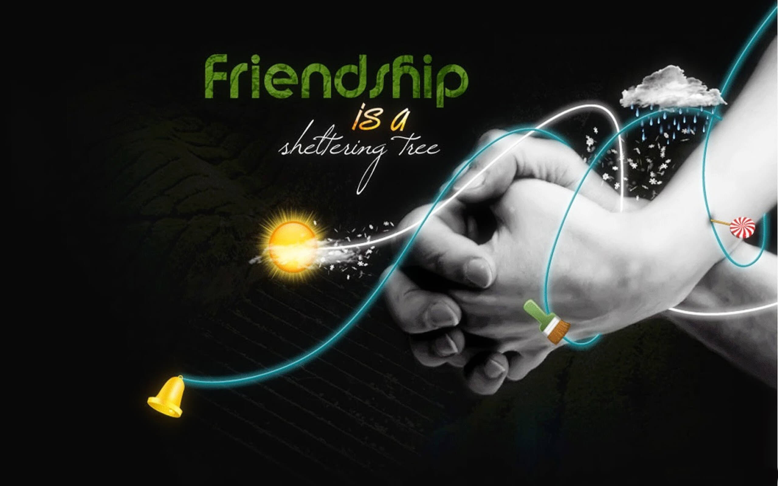 happy friendship day hand close latest hd wallpaper