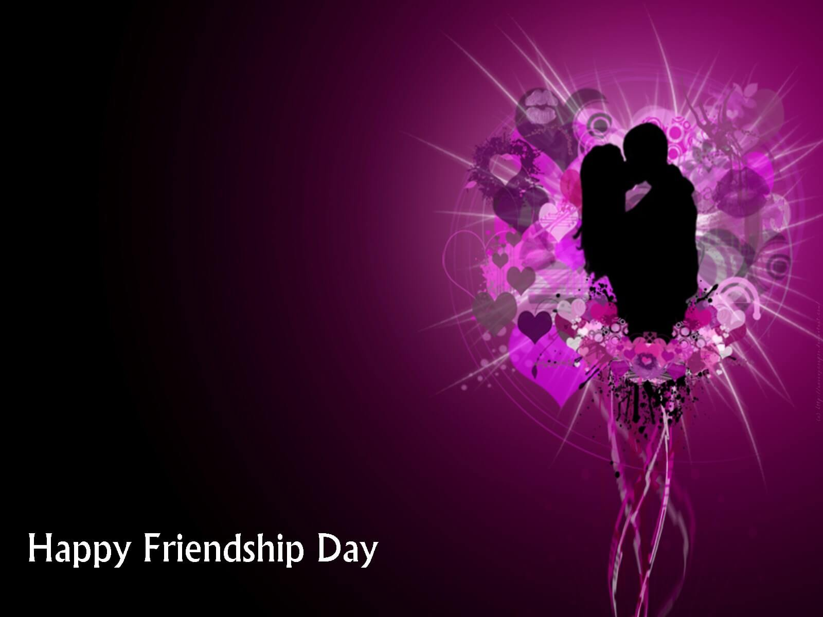 happy friendship day romantic latest hd wallpaper