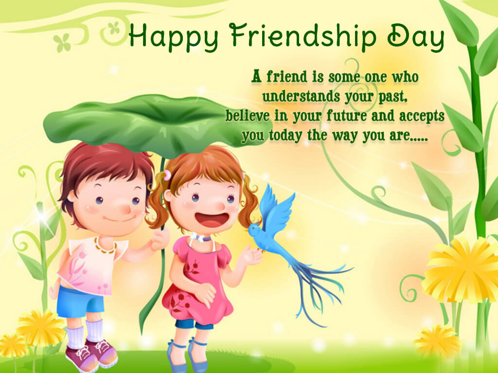 happy friendship day sayings poems cute hd wallpaper