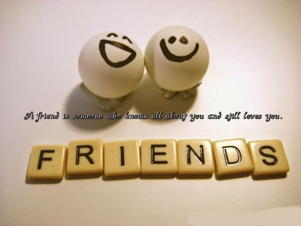 happy friendship day smileys wallpaper